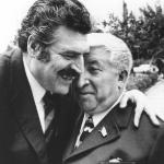 Расул Гамзатов с Яном Френкелем