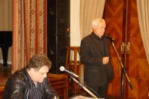 Писатель, бывший  министр печати России, Борис Миронов