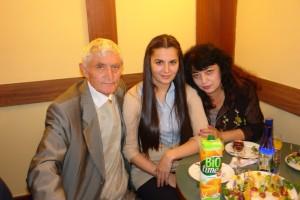 Даганов и Исрапилова с молодой порослью