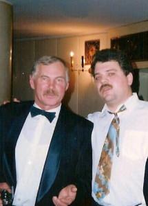 Соколкин с Народным артистом Белорусии Владимиром Гостюхиным