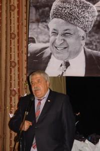 Председатель Союза писателей Дагестана Магомед Ахмедов.
