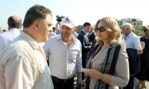 с министром культуры Заремой Бутаевой
