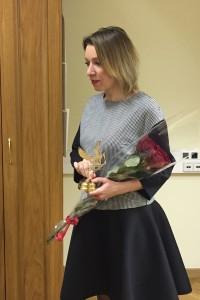 2. Вручение премии М.В.Захаровой