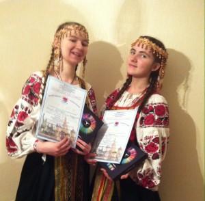 Чернышовы Мария и София (Москва)