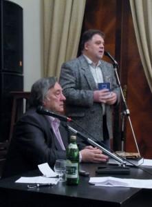 """С писателем, главным редактором газеты """"Завтра"""" Александром Андреевичем Прохановым"""