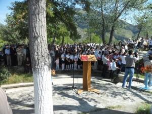 Митинг в высокогорном Гунибе