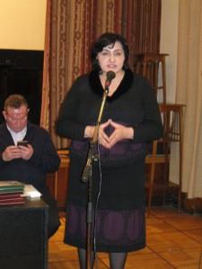 Р.Дидигова с приветственным словом Фестивалю