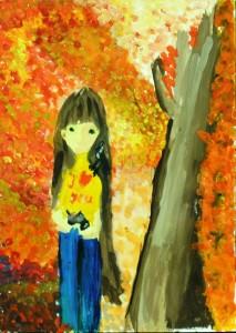 19.Осенняя гармония. Мой укромный уголок. Варыгина Анна 3 Б. ГБОУ Школа №319.