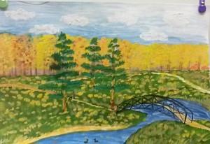 21 Осень за моим окном. Бондаренко М.