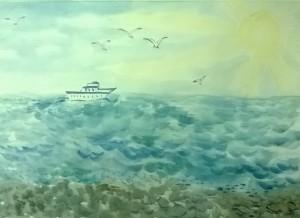 23. Хохлова Ангелина. Пляж. Абхазия